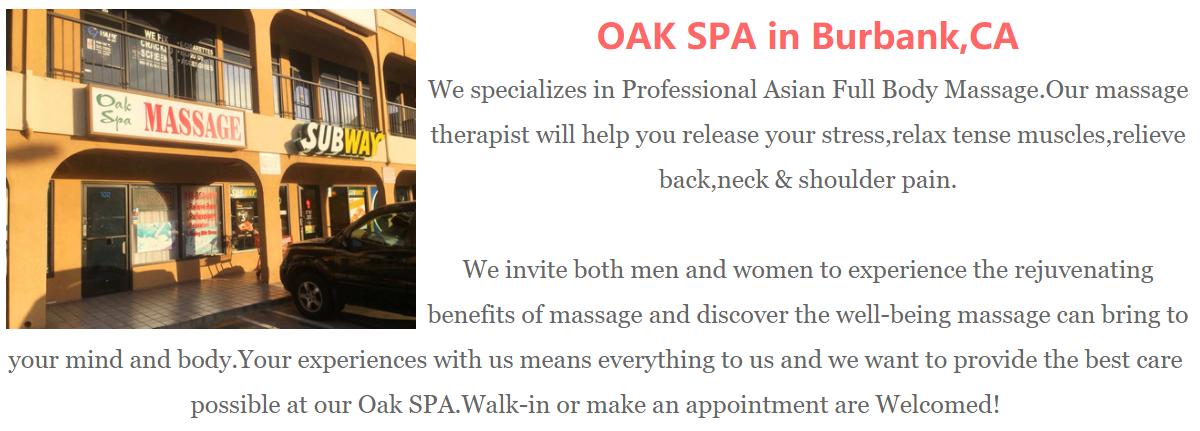 Something Asian massage glendale california